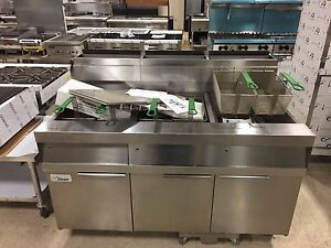 Frymaster Propane Hd Gas Fryer W Built in Filtration