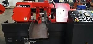 Amada Ha 250w Band Saw Machine Used demo