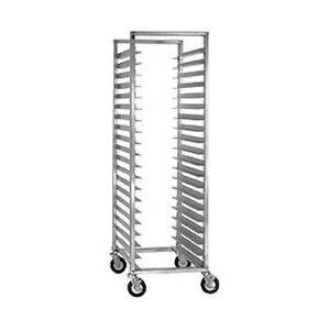 Cres Cor 207 1524 24 Capacity Full Height Mobile Utility Rack
