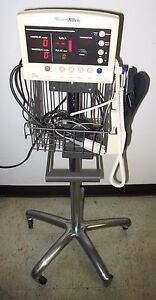 Welch Allyn Series 52000 Patient Vital Signs Monitor Spo2 Nibp Temp Stand