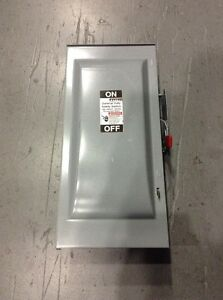 Gun323aw Murray General Duty Safety Switch 3 Pole 100 Amp 240v new