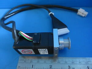 Yaskawa Sgmm a1c313 Mini Servo motor 10w 2 1a W Pulley And Mount Plate