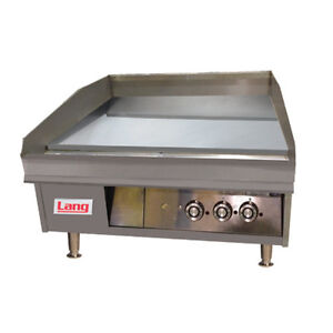 Lang 172t 72 Electric Countertop Griddle