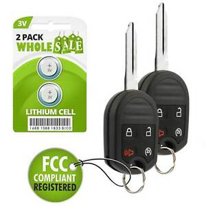 2 Replacement For 2011 2012 2013 Ford F 350 Super Duty Key Fob Remote Alarm