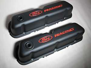 Proform 302 072 Ford Racing Sb 289 302 Black Valve Covers