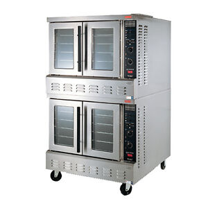 Lang Gcod ap2 Gas Bakers Depth Strato Series 2 Deck Convection Oven