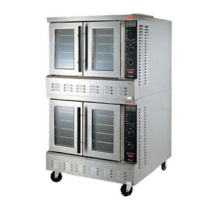 Lang Gcof t2 Gas Strato Series 2 Deck Convection Oven