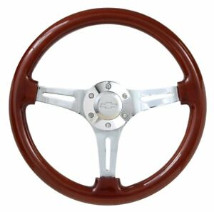 Real Wood Steering Wheel Adapter For 1968 Pontiac Fire Bird Or Camaro