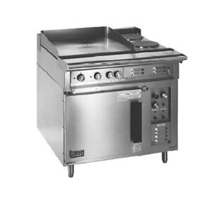 Lang R36c atc 36 Electric Range W 2 12 Hot Plates 2 8 French Hot Plates