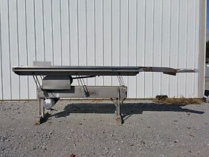Vibrating Conveyor By Allen Fruit Company 30 Wide X 102 Long Stainless Steel