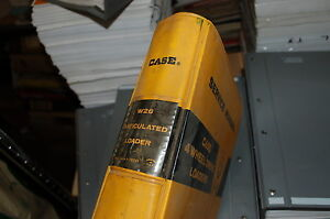 Case W26 Articulated Front End Wheel Loader Shop Service Manual Book Overhaul