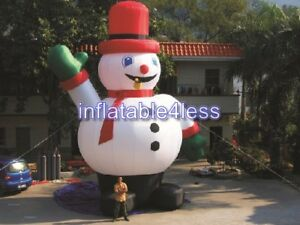 26ft Inflatable Snowman Christmas Holiday Decoration In Stock