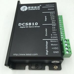 Leadshine 18 80vd 20a Dc Servo Driver Brushed Dcs810 Dsp Digital For Motor Cnc