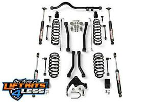 Teraflex 1256223 3 Lift Suspension Lift Kit Flexarms For 2007 18 Jeep 2 Door Jk