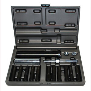 Cal Van Tools 95400 In line Dowel Pin Puller Set With Sae And Metric Collets