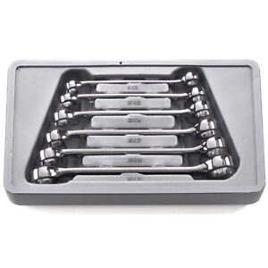 Gearwrench 81906 6 Piece Flare Nut Wrench Set Metric
