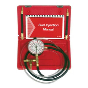 Star Products Tu 469 Fuel Injection Pressure Tester With Schrader Adapters
