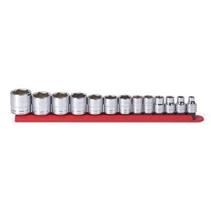 Gearwrench 80553 13 Piece 3 8 Drive 6 Point Sae Socket Set