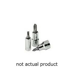 Sk Hand Tools 44482 1 4 Drive Screwdriver Bit Socket Phillips 2