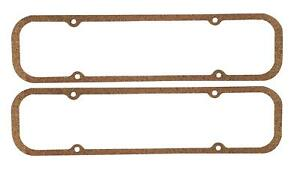 Mr Gasket 576 Valve Cover Gaskets Cork Rubber Pontiac V8 Pair