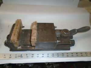 Machinist Tools Lathe Mill Machinist 5 Skinner Chuck Co Milling Vise Lever Type