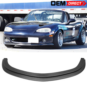 For 01 05 Mazda Miata Mx 5 Ds Style Front Bumper Lip Pu