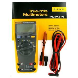 Fluke 179 True rms Digital Multimeter With 80bk Temperature Probe