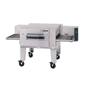 Lincoln 1600 fb1g Gas Lowprofile Single Stack Conveyor Oven W Fastbake
