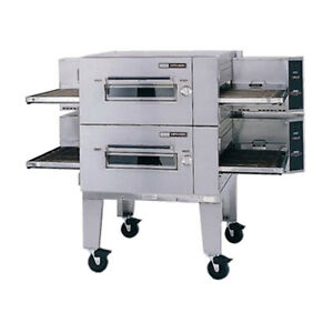 Lincoln 3240 2n Nat Gas Double Stack Conveyor Oven W Fastbake