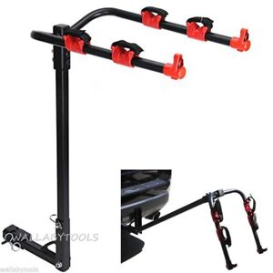 2 Bike Bicycle Rack Steel Hitch Carrier Holder 1 1 4 2 Trailer Hitch Receivers