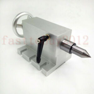 Mt2 Morse Taper No 2 Tailstock Shaft Tail Stock For Rotary Table Cnc Router