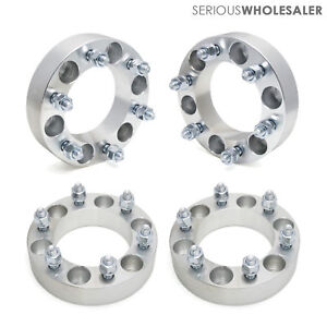 4x Wheel Spacers Adapters 1 5 6x5 5 12x1 5 Fit Toyota Tacoma 4runner 6 Lugs