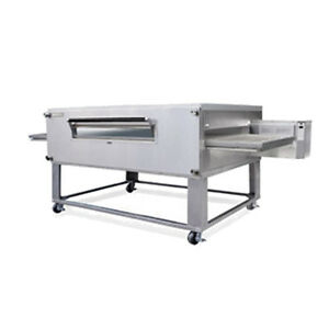 Lincoln 3255 2 Gas Double Deck Conveyor Oven W Fastbake