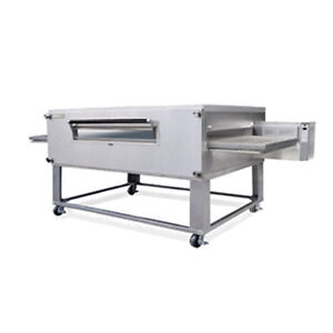 Lincoln 3270 2 Gas Double Deck Conveyor Oven W Fastbake