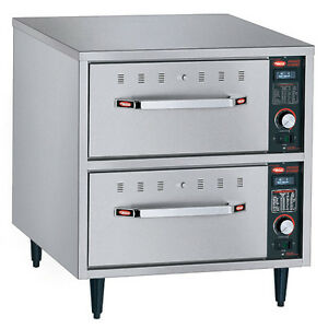 Hatco Hdw 2n Narrow Warming Drawer W 2 Drawers And Stainless Steel Construction