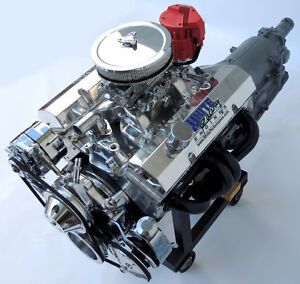 Sbc Chevy Turn Key 406 Stroker Engine W 700r4 Transmission 550 Hp Crate Motor