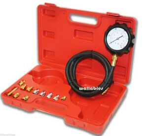 New 13pc Deluxe Automatic Transmission Engine Oil Pressure Tester Case