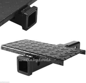 Hitch Extender W Step Hitch Mount Extension 2 4000lb Mtw Hitch Receiver 12