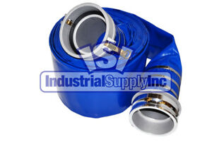 6 X 50ft Blue Water Discharge Hose Camlocks