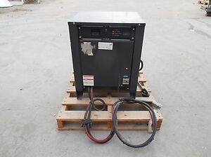 Industrial Battery Charger 12v0750w2c 1 Ph 208 240 480 Ac Volts In used
