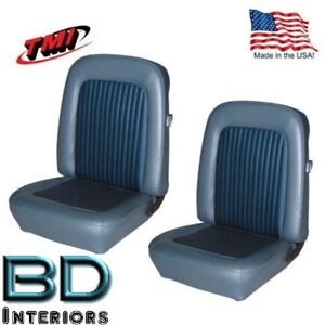 1968 1977 Ford Bronco Replacement Seat Upholstery Front Buckets Made In Usa