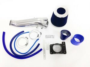 Blue For 1995 1999 Mitsubishi Eclipse Gst Gsx Spyder 2 0l Turbo Air Intake