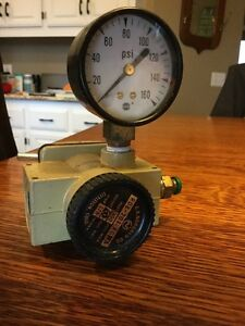 Norgren R08 201 rgfa Air Line Regulator 300 Psig In 60 Psig Out 175f Npt
