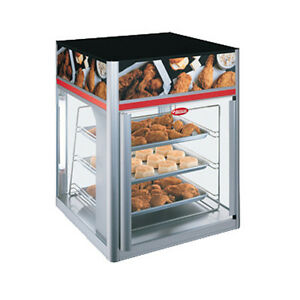 Hatco Fsd 1x Countertop Hot Food Display Case With 3 Tier Pan Rack Without Motor
