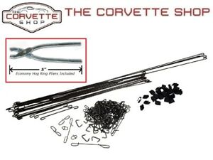 C3 Corvette Seat Cover Install Kit With Hog Ring Pliers 1970 1978 X2087 4904