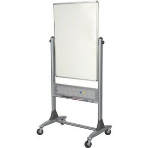 Platinum Mobile Reversible Whiteboard Easel 30 X 40 Panel Size