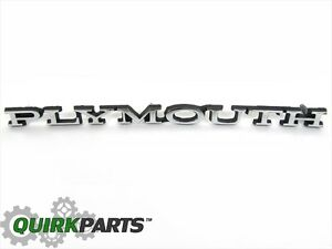 1970 1972 Plymouth Duster 1968 1969 Plymouth Road Runner Gtx Hood Emblem Oe