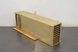 Aluminum Heat Sink Cooler 17 5 8 x6 x3 5 8 18lbs Block Heat Spreader Used