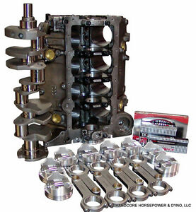 427ci Small Block Chevy Parts Kit Diy Turbo Short Block 2pc Rms Up To 2 500hp