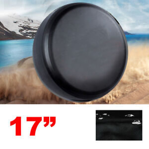 Black Spare Wheel Tire Tyre Case Cover Protector 32 33 For Jeep Wrangler New